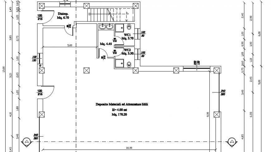 Vendesi Locale Commerciale di mq.220, Nuova Costruzione – Borgo Ticino (NO) – Rif.40004